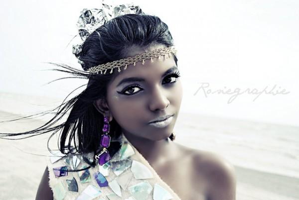 Lydia Dark Indian model